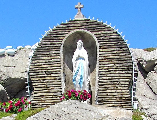 Our Lady of Lourdes Grotto - Lourdes, Newfoundland