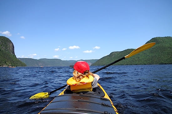 Sea-Kayaking-Lac-St-Jean-Quebec
