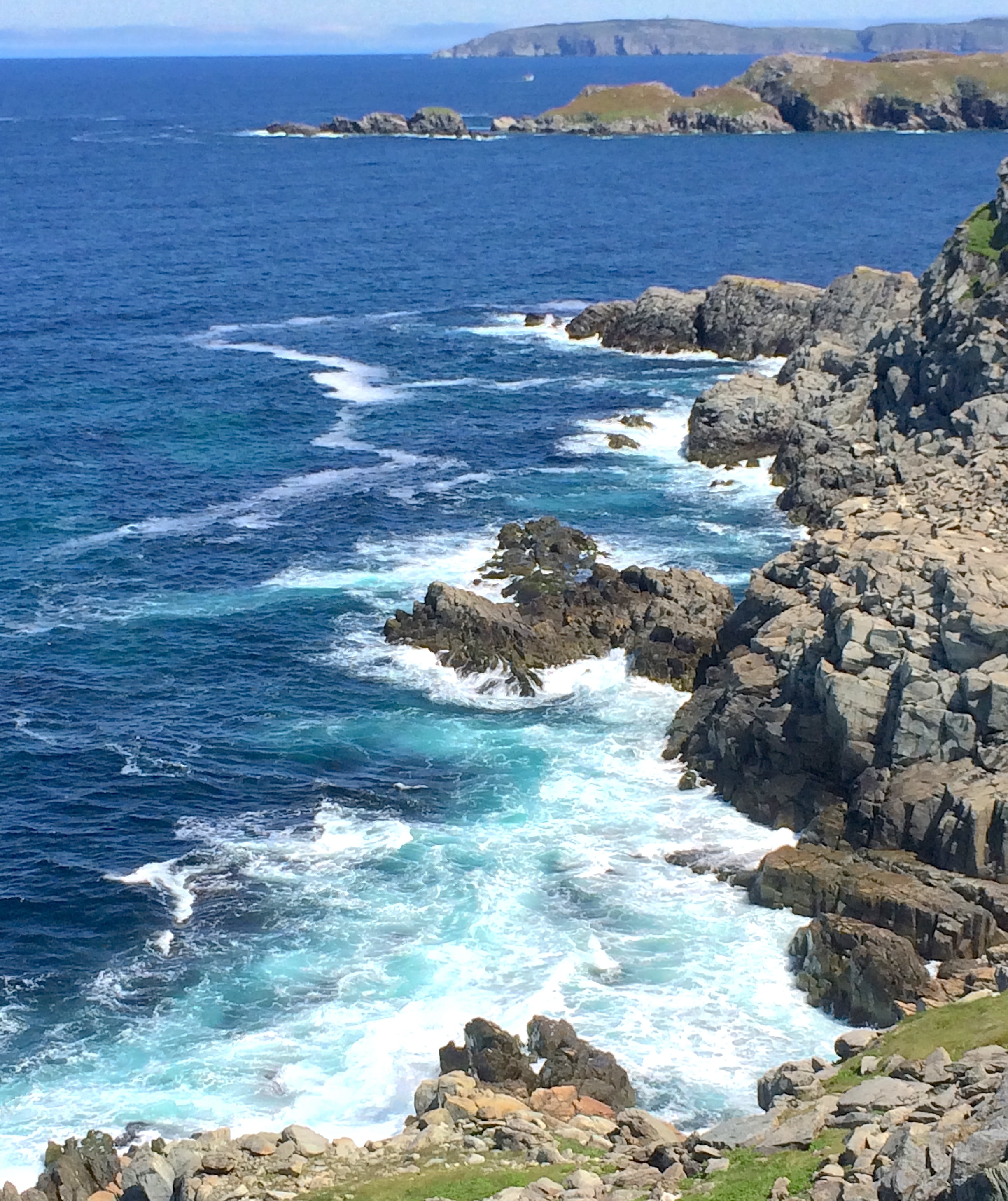 craggy shoreline-Newfoundland