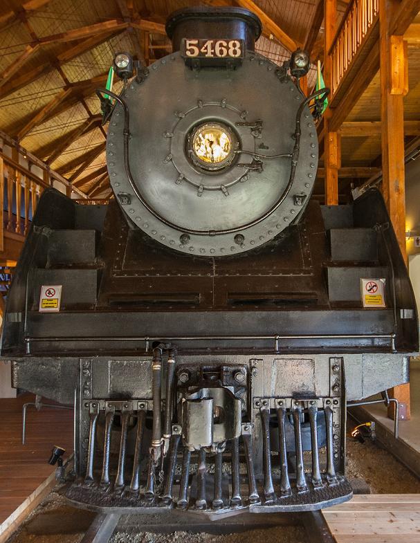 Locomotive in Revelstoke