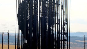 Nelson-Mandela-sculpture-Kwazulu Natal