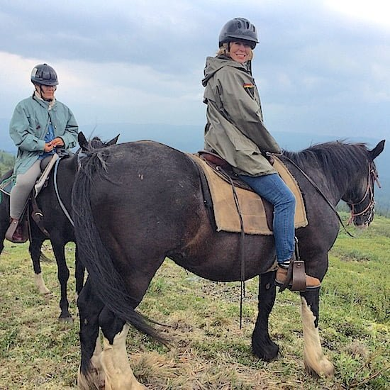 horseback riding in yukon