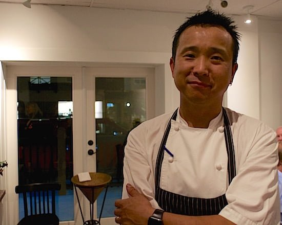 Chef Jeff Park, who has lived in Squamish for six years, previously worked for Araxi, considered Whistler's finest restaurant. (Adrian Brijbassi/Vacay.ca)