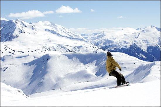 Whistler-Snowboarding