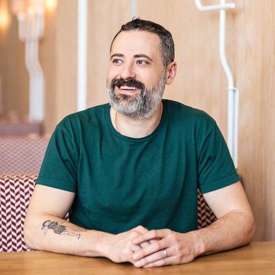Mark Perrier Chef Savio Volpe