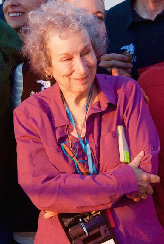 margaret-atwood-on-deck-adventure-canada