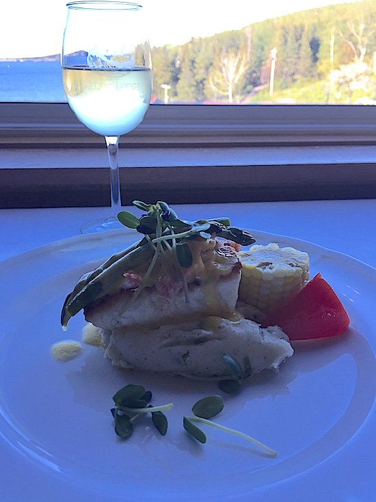 halibut keltic lodge purple thistle cape breton
