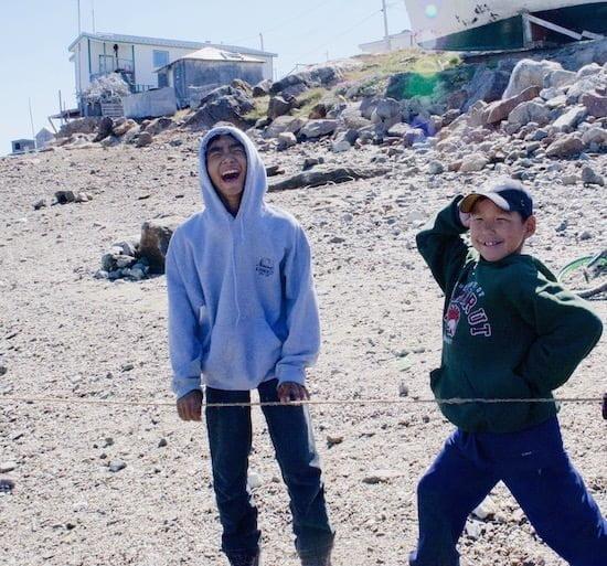 kids-in-kimmirut-nunavut-adventure-canada