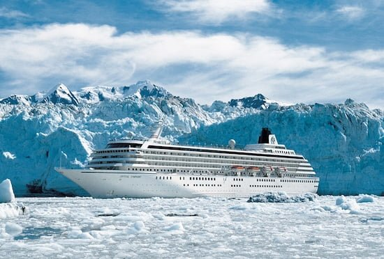 Crystal Alaska cruise