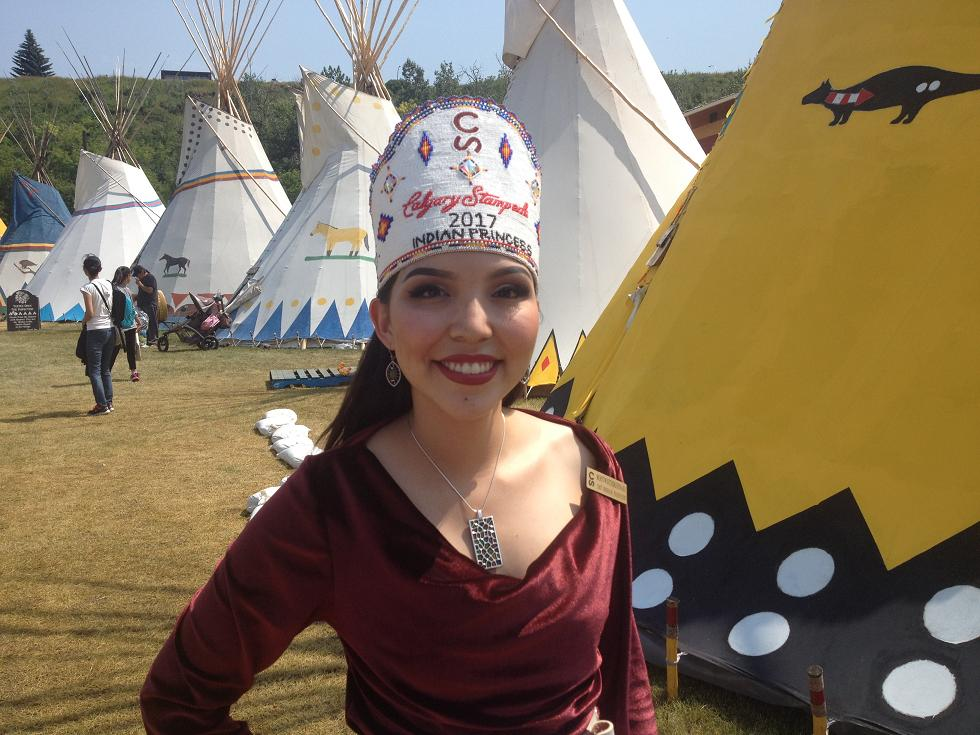 Stampede Indian Princess 2017
