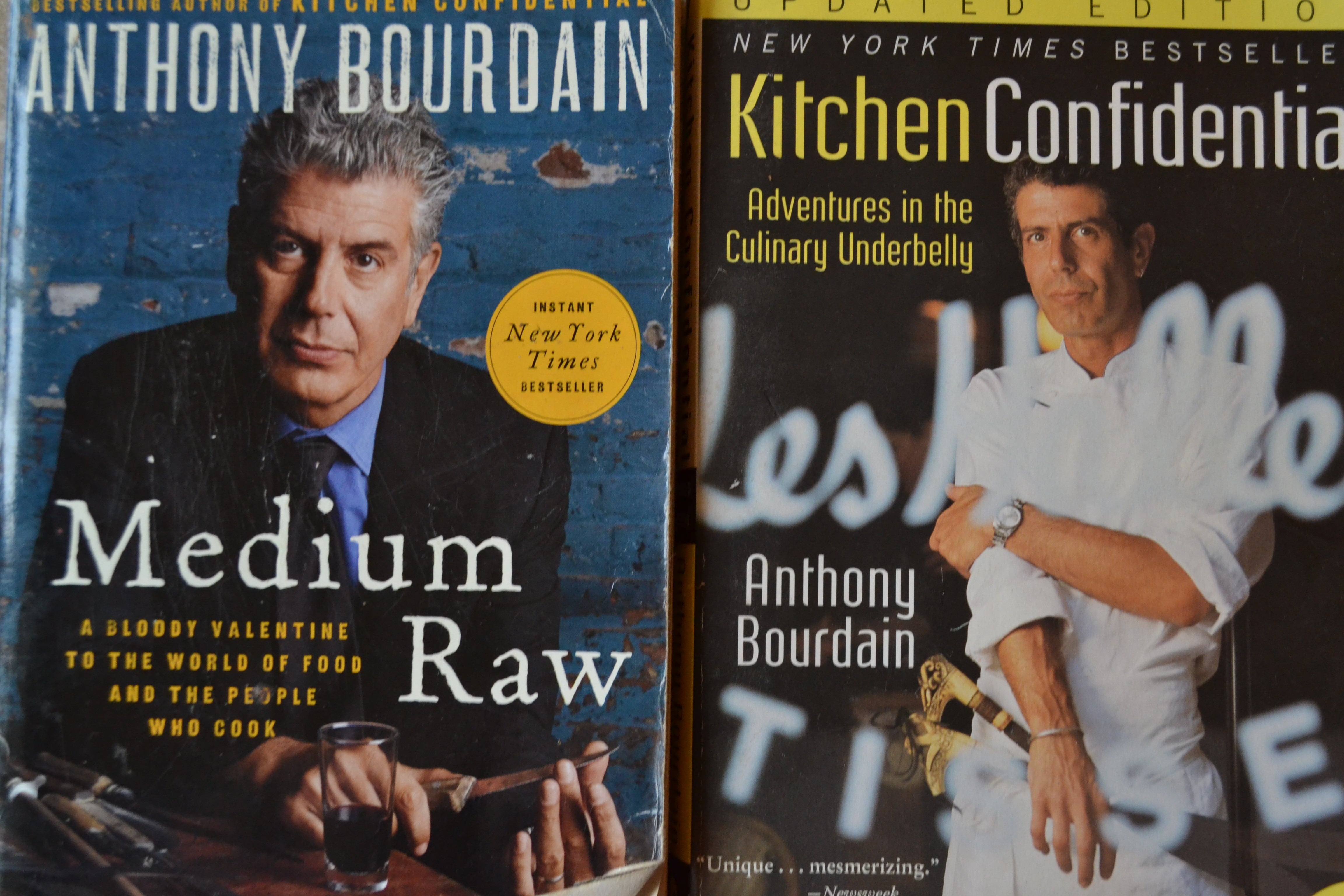 Kitchen Confidential And Medium Raw Were Just Some Of The Books Anthony  Bourdain Published.