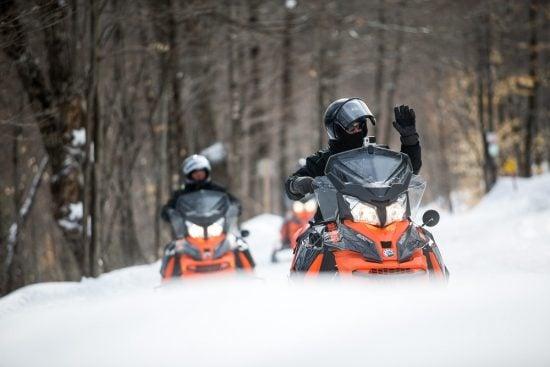 Snowmobiling Pourvoirie du Lac Blanc @ T. Mauricie, O. Croteau(2)