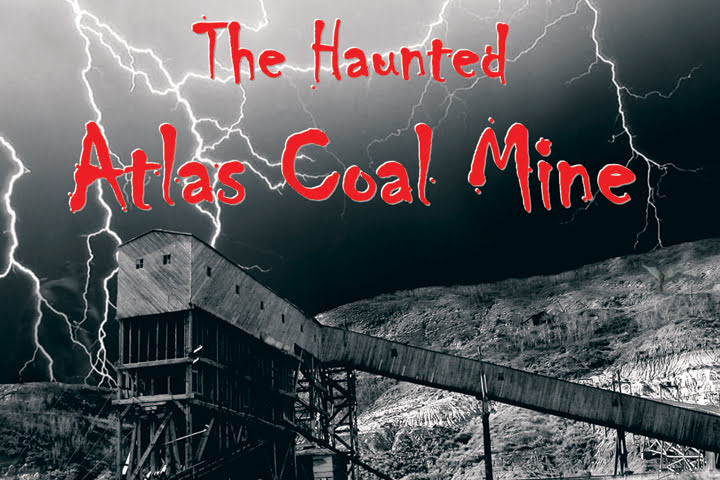 Atlas Coal Mine, Drumheller Valley, Alberta, Halloween, travel, National Historic Site