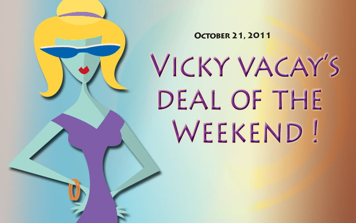 canadian vacay deal of the weekend