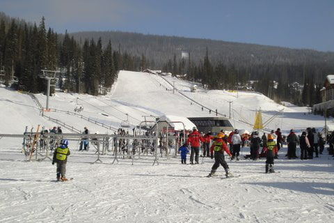 Sun Peaks Ski Resort British Columbia
