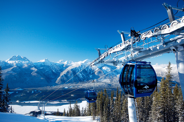 Revelstoke Mountain Resort, British Columbia, BC, Ski, scenic, snow