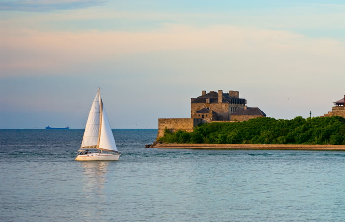 Fort Niagara from Niagara-on-the-Lake