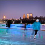 td rink on the brink, niagara falls, ontario, ice skating