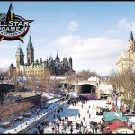 Rideau Canal winter ice skating Ottawa