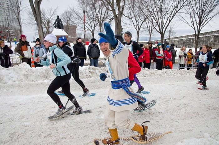 snowshoe-race-quebec-carnival