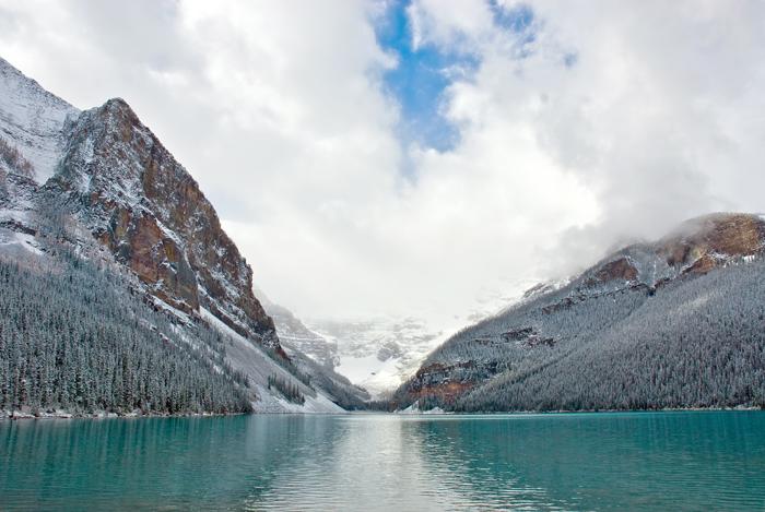 banff-lake-louise-winter