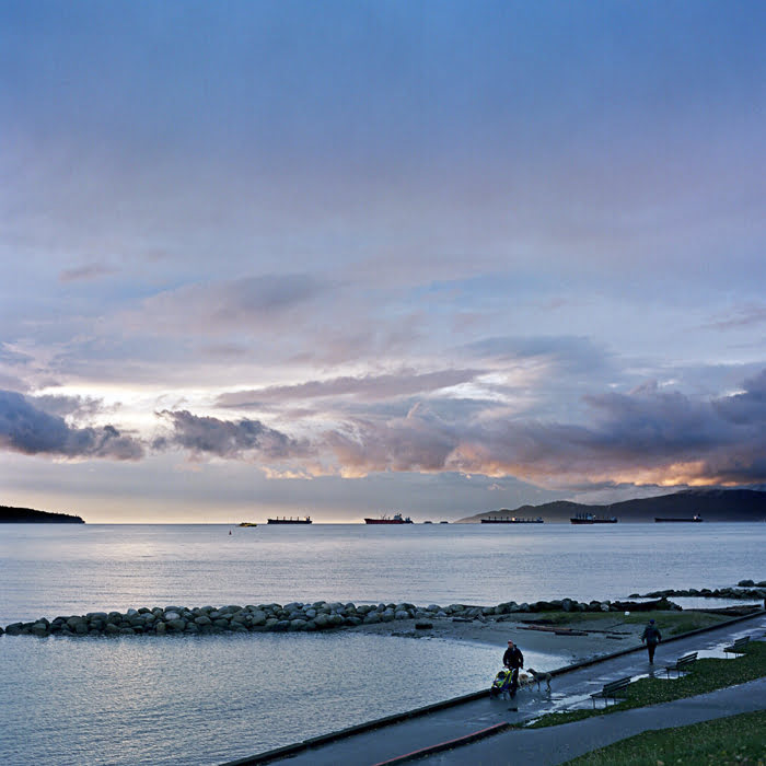 English Bay, Vancouver, Scenic, Sea Wall