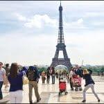 Paris, France, Spring travel