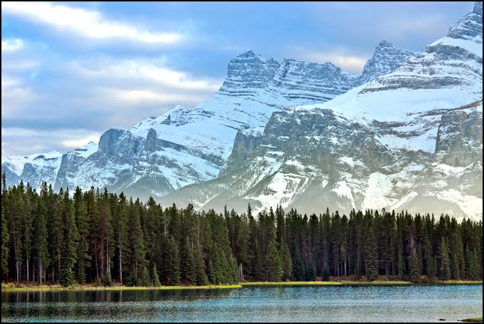 Two Jack Lake, Banff National Park, Alberta