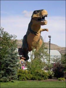 World's Largest Dinosaur, Drumheller, Alberta