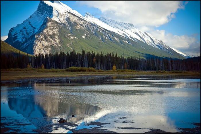 Mount Rundle Banff Alberta
