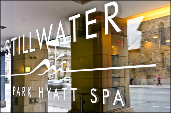 Stillwater Spa Toronto Yorkville Park Hyatt