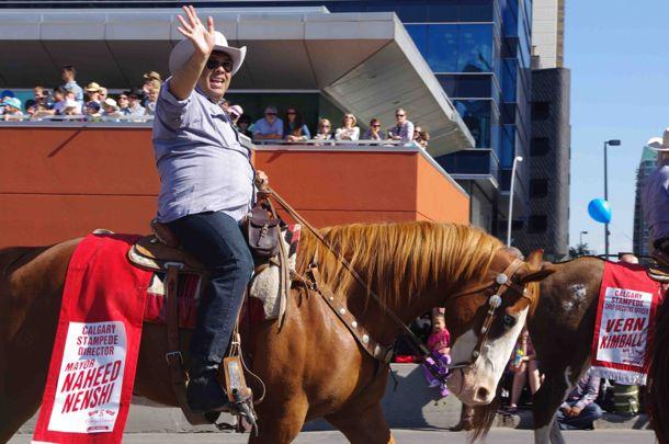 Mayor-Naheed-Nenshi-2012-calgary-stampede