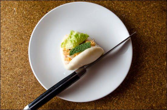 Lobster Dumpling Má Pêche Momofuku