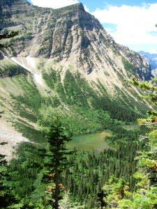 Crypt Lake hike waterton lakes national park