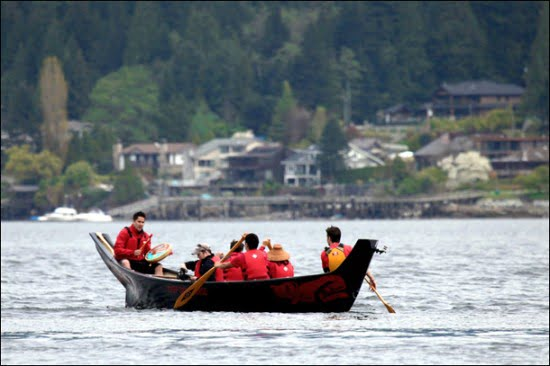 Canoeing-North-Vancouver-Deep-Cove