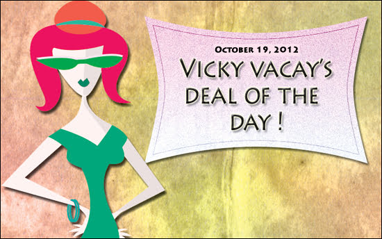 travel deal october 19, 2012