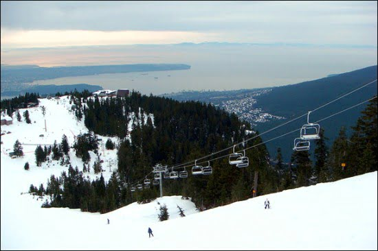 Grouse Mountain Skiing