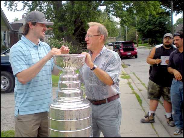 Stanley Cup-Dave-Bolland-Chicago-Blackhawks-Mimico
