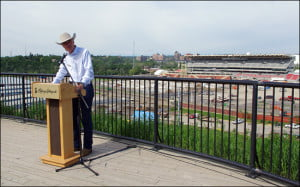 Stampede president Bob Thompson says the show will go on, come hell or high water. (Jody Robbins/Vacay.ca)