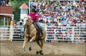 Calgary-Stampede-barrel-racing