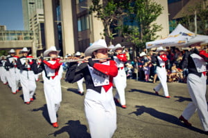 calgary-stampede-marching-band-2013