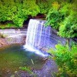 Bridal Veil Falls Manitoulin Island