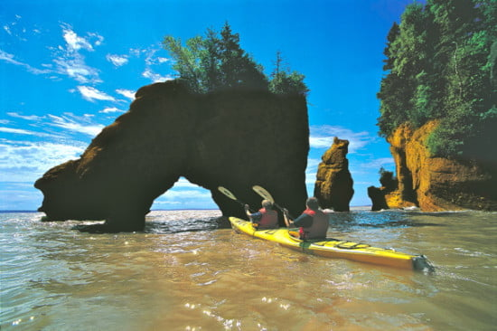 kaykers at arch hopewell rocks new brunswick
