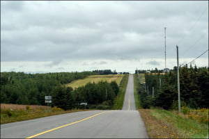 PEI is filled with empty and inviting stretches of asphalt like this one. (Adrian Brijbassi/Vacay.ca)