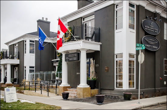The Kesington Riverside Inn in Calgary has just been given the distinguished Relais and Chateaux designation. (Julia Pelish/Vacay.ca)
