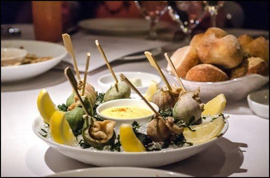 Blue-Water-Cafe-sea-snails-whelk