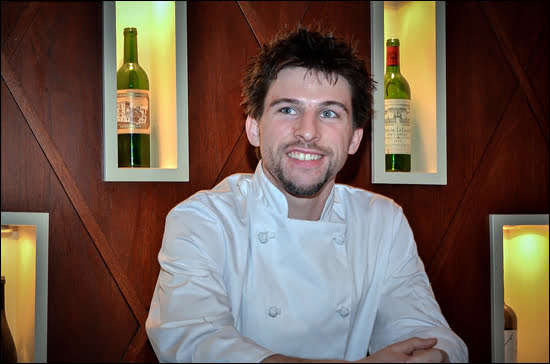 Trevor Ross, formerly of Splendido in Toronto, will now be head of Starbelly's Kitchen. (Julia Pelish/Vacay.ca)