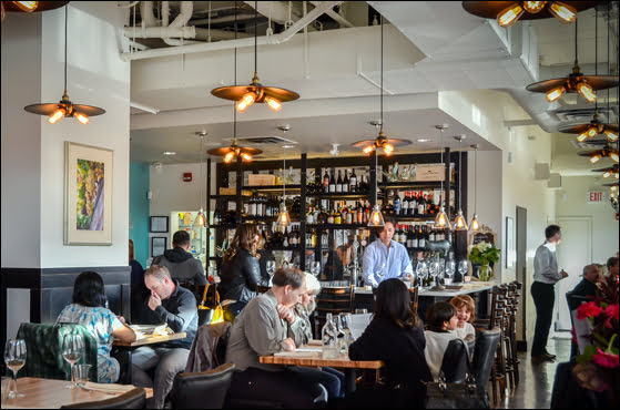 Black Pig Bistro is the newest restaurant opening in the Bridgeland area. (Julia Pelish/Vacay.ca)
