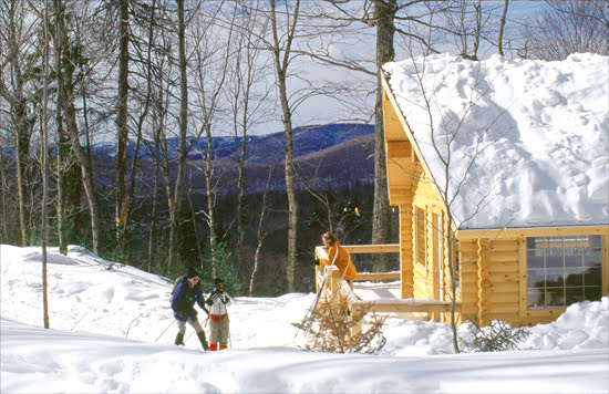 Laurentides, Cross-country skiing, Parc national du Mont-Tremblant, Québec national parks and wildlife reserves, Winter sports