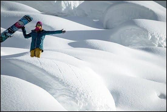 Marie-France Roy snowboarder filmmaker